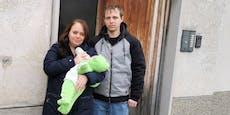 Wienerin muss mit Baby in Schimmel-Wohnung leben