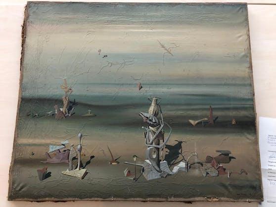Das Gemälde des Surrealisten Yves Tanguy ist rund 280.000 Euro wert