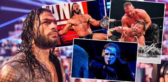 Das Wrestling-Jahr 2020 hatte es trotz Corona in sich