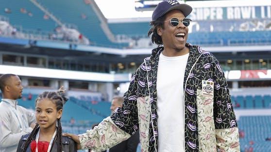 Blue Ivy Carter (li.), die Tochter von Jay-Z und Musik-Superstar Beyoncé, hat es nachträglich auf die Grammy-Nominiertenliste geschafft.