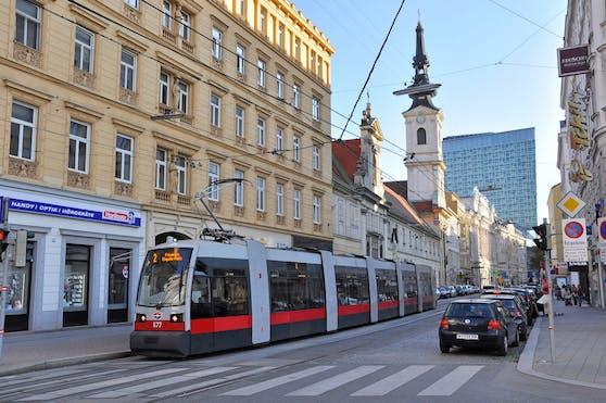 Auf der Wiener Taborstraße kam es zum Angriff.