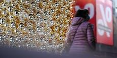 So groß ist der Rückgang im Weihnachtsgeschäft