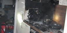 Grazer (27) fackelt beim Kochen ganze Küche ab