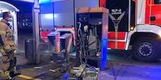 Automat gesprengt: Zwei Täter (17, 19) ausgeforscht