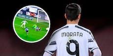 Fersen-Fehlschuss! Morata und Ronaldo treffen nicht