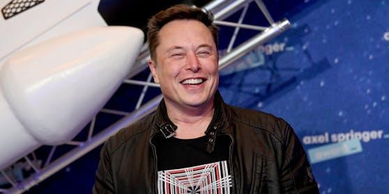 Elon Musk bekam dieses Jahr 110 Milliarden US-Dollar dazu.