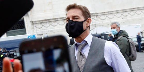 """Tom Cruise am Set von """"Mission: Impossible 7"""""""