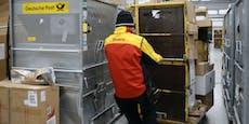 DHL rechnet mit bis zu 20 Prozent mehr Paketen