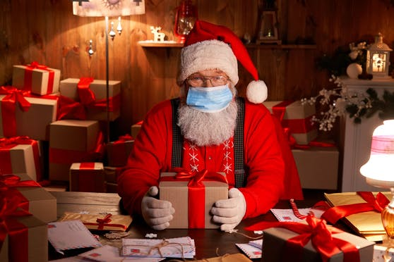 Die WHO erteilt dem Weihnachtsmann grünes Licht.