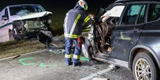 BMW katapultiert Transporter von der Straße – Lenker tot