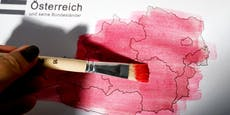 Vor drittem Lockdown bleibt ganz Österreich rot auf Ampel
