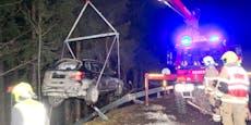 Drogenlenker (17) schrottet mit Freunden Papas BMW