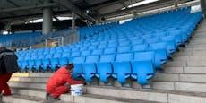 Linzer Gugl: Hier werden schon die Sitze abmontiert