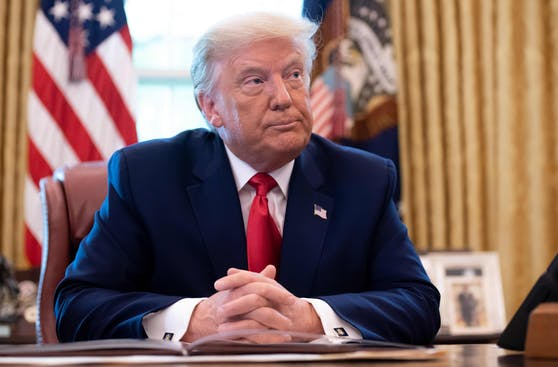Der scheidende US-Präsident Donald Trump.