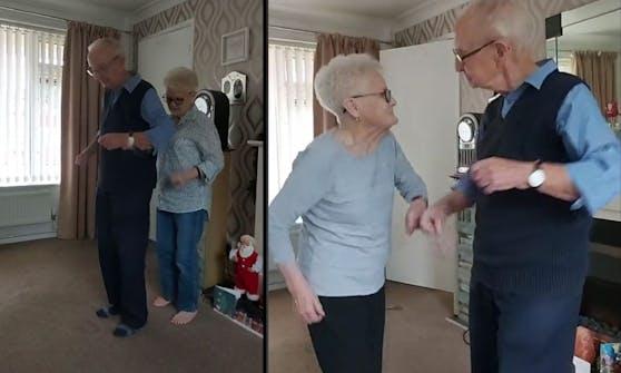 Joseph und Sylvia tanzen sich in die Herzen der TikTok-User.