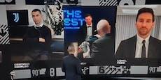 Ronaldo schmollt bei Lewandowskis Weltfußballer-Wahl