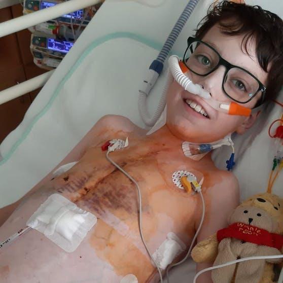 Der 15-Jährige wartet dringend auf ein Spenderherz.