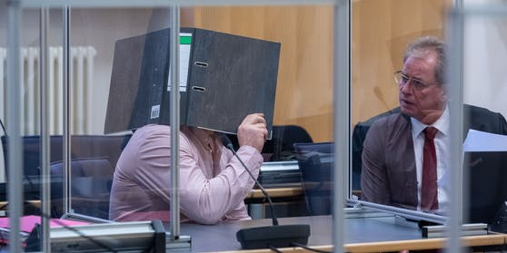 Der Angeklagte Dieter E. wurde am 16. Dezember zu zehn Jahren Haft verurteilt.