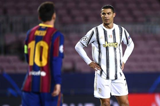 Lionel Messi gab Cristiano Ronaldo keine Stimme.