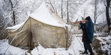 3.000 Flüchtlinge laufen Gefahr in Bosnien zu erfrieren