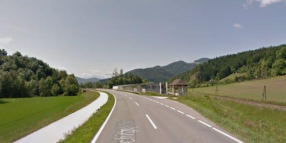 Die B92 bei Brückl, wo genau sich der Unfall ereignet hat ist nicht klar