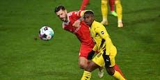 1:2! Premierentor von Wunderkind reicht Dortmund nicht