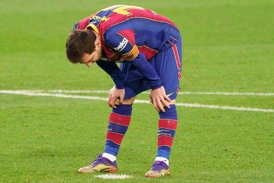 Lionel Messi erzielt ein Rekordtor.