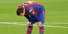 Erste Rote Karte bei Barca! Messi-Faustschlag im Video