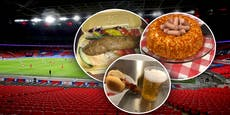 Fußball-Fans zeigen die grauslichsten Stadion-Snacks