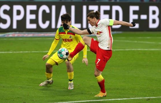 Marcel Sabitzer gegen Köln.