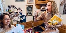 Bei Missy May gibt's statt  Wein nun Gummibärchen