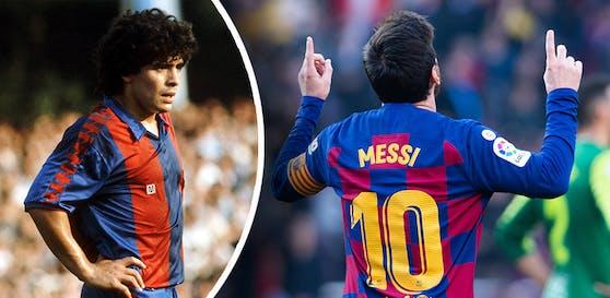 Diego Maradona Junior will die 10 nicht mehr vergeben lassen.