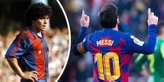 Maradona-Sohn verlangt: Messi soll die 10 aufgeben