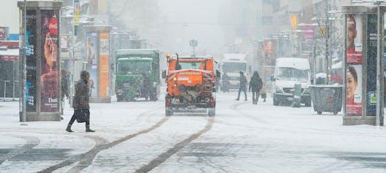 Im Winter 2017/2018 sah Wien den ersten Schneefall der Saison erst Anfang Februar.
