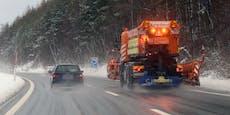 Asfinag richtet dringenden Schnee-Appell an Autofahrer
