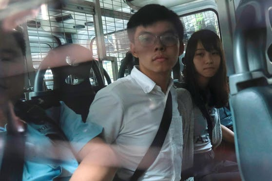 Joshua Wong (24) muss ins Gefängnis.