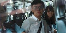 Hongkong Aktivist Joshua Wong muss ins Gefängnis