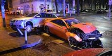 Alkolenker fährt über Rot und crasht zwei Fahrzeuge