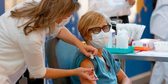 Am 28.Dezember starteten die Impfungen in Wien und Niederösterreich.