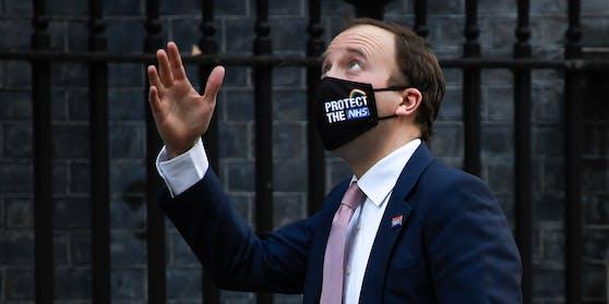 Großbritanniens Gesundheitsminister Matt Hancock