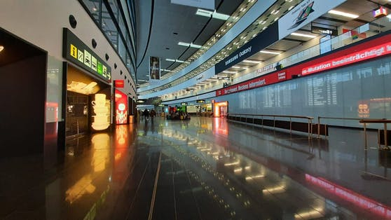 Der Flughafen Wien in Schwechat