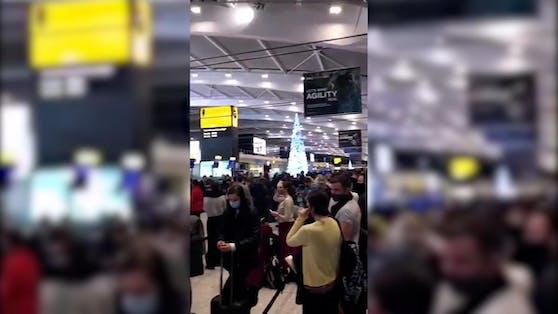 Zahlreiche Passagiere sind gestrandet.