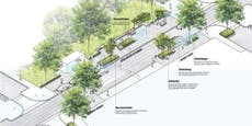 Thaliastraße neu: Mehr Grün, Platz und barrierefrei