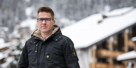 Der Verbierer Tourismus-Chef Simon Wiget macht sich Sorgen, dass britische Wintersportler die neue Corona-Mutation eingeschleppen könnten