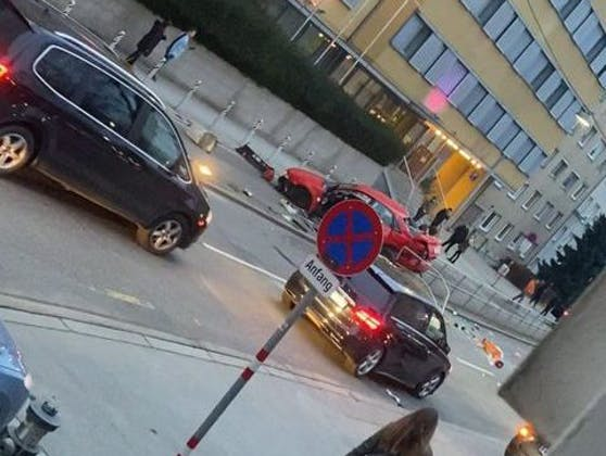 Crash in Wien-Meidling