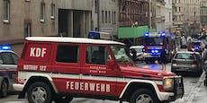 Straße in Währing wegen Feuerwehr-Einsatzes gesperrt
