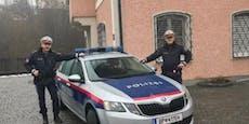 Diese Cops wurden zum zweiten Mal zu Lebensrettern