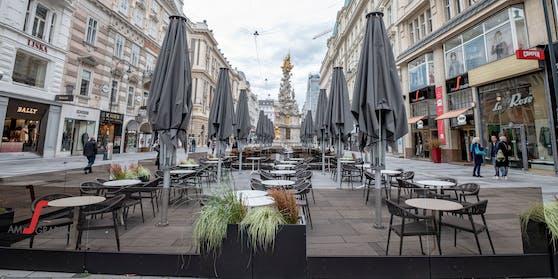 Noch sind die Restaurants und Lokale in Wien geschlossen.
