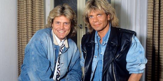Dieter Bohlen (links) und Matthias Reim sind seit Jahrzehnten gut befreundet