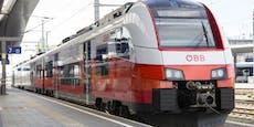 Dieb bestahl schlafende Frau im Zug nach St. Pölten